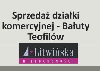 działka na sprzedaż - Łódź, Bałuty